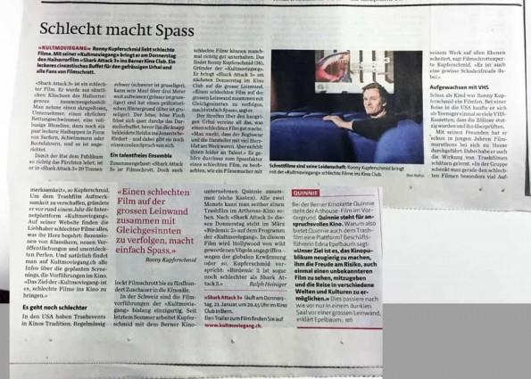 Bericht Berner Zeitung