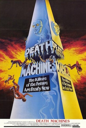 Death Machines DVD Cover