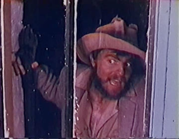 Torgo looking for the Double Rainbow
